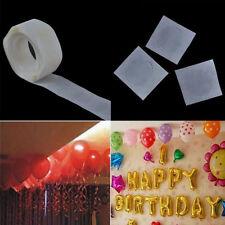 2 roll/Lot 100 Dots Glue Permanent Adhesive Bostik Wedding Party Balloon Decor