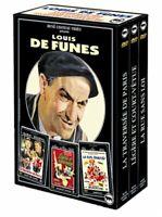 Coffret Louis de Funes 3 DVD : Rue sans loi / Légère et court vêtue / La travers