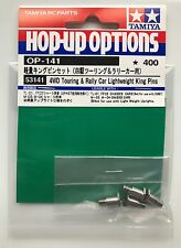 Tamiya 53141 4WD Touring & Rally Car Lightweight King Pins (TL01/FF02/M03) NIP