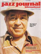 JAZZ JOURNAL MAGAZINE 1978 AUG DICKY WELLS, BOBBY WELLINS, GIL EVANS