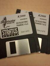 Kurzweil ~ DX ELECTRIC PIANOS vol. 1 & 2 ~ Native Kurzweil ~ V.A.S.T Programs!!!