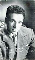Dane Clark Hollywood Actor Warner Bros Studios Fan Thank You 1945 Postcard Photo