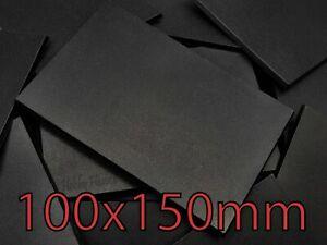 100x150mm Rectangle Plain Wargaming Plastic Bases Warhammer Brand New Wargames