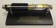SW-302 Star Wars Lightsaber .45 Master Replicas Mace Windu EP2
