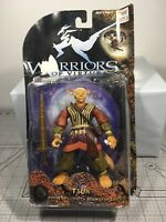 "PWarriors of Virtue TSUN 6"" Action Figure 1997 Security of Earth Damaged Box"