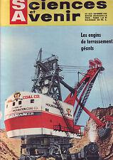 Sciences et Avenir - 163 - sepembre 1960 - engins de terrassement -