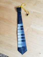 Musical Tie . Play The Piano Keys New Batteries *Father's Day*