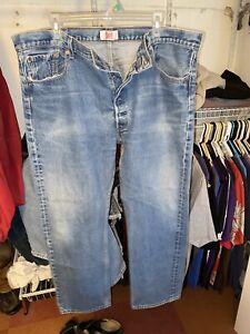 levis 501 button fly jeans vintage