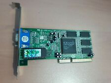 S3 Trio 3D/2X 86C368 AGP Video Card 8MB complete with Manual and CD