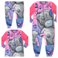 Tatty Teddy Me to You Blue Nose Pyjamas PJs Girls All in One Sleepsuit Christmas