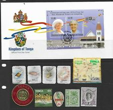 Collection of mixed used Tonga/Toga FDC & stamps.