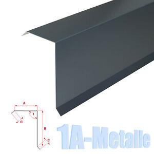 Ortgangblech Aluminium Dachblech Ortblech Alu Winkelblech RAL Farben Ortgang B