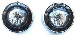 Front Fog Light Lamps + surround covers frame for MITSUBISHI OUTLANDER 2010-2012