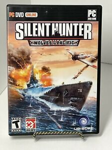Silent Hunter: Wolves of the Pacific (PC Game DVD-ROM, 2007) With Manual