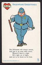 Valentine-Tuck-Vinegar-Police-Policeman-Comic-Antique Postcard