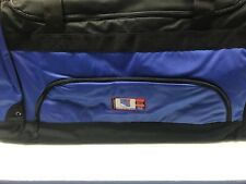 NHL LICENSED NEW YORK RANGERS EQUIPMENT HOCKEY BAG W/SHOULDER STRAP