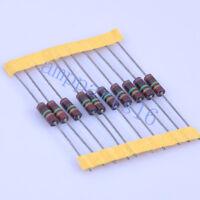 10pcs Carbon Composition vintage Resistor 0.5W 1M ohm +-20%