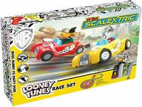 Looney Tunes My First Scalextric Race Track Set Powered Slot Racing Playset