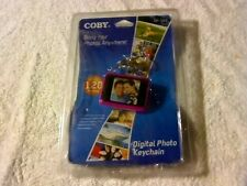 2007 COBY ELECTRONICS DIGITAL PHOTO KEYCHAIN PINK COLOR DP-161 BRAND NEW