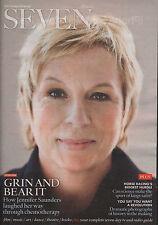Jennifer Saunders on Magazine Cover November 2012
