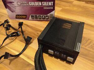passives 500 Watt Super Flower Golden Silent Fanless 80+ Platinum