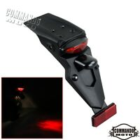 Universal Motorcycle Rear Fender Lamp LED Enduro Brake Stop Taillight Tail Lamp