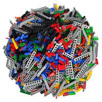 LEGO® Technic 500 Teile Technik Verbinder Pins Lochstangen Zahnräder gemischt
