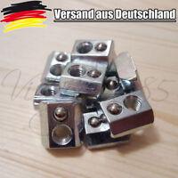 10x Nutensteine für Nut 8 Profile mit Steg Kugel Schrauben M6 3D Drucker L0060