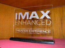 Imax Enhanced Etched Glass Home Theater Sign