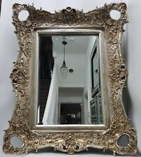 Antique French Style Champagne Gold Large Mirror Shabby Chic
