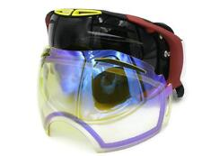 Oakley Airbreak Flight Series WildCat OO7037-13 Goggle Dark Grey/ Yellow Lenses