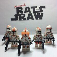 Lego Star Wars minifigures - Clone Custom Troopers - Commander Codys 212th