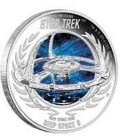 2015 Tuvalu Star Trek Deep Space 9 Nine Silver Dollar $1 Proof COIN