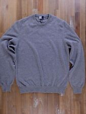 FEDELI 100% cashmere gray slim-fit sweater authentic - Size 50 EU / Large - NWOT