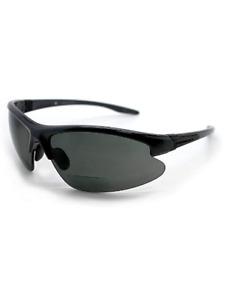 Renegade Bifocal Polarized Reader Half Rim Men's Fishing Sunglasses +2.00 Power