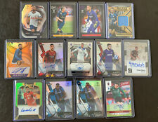 👀SOCCER AUTO SHORT PRINT RELIC SERIAL # LOT (13) Premier League, Serie A 👀