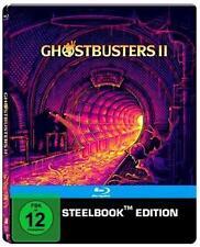 GHOSTBUSTERS II (Bill Murray, Dan Aykroyd) Blu-ray Disc, Steelbook NEU+OVP