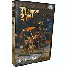 Dungeon Saga, Heroes of Mantica, Expansion Kit, New