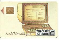 RARE / CARTE TELEPHONIQUE INTERNE - LA TELEMATIQUE ( FRANCE ) / PHONECARD