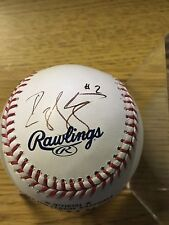 DJ Strawberry signed Official MLB Ball auto Mets