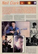 Lloyd Cole Neil Clark UK 'Guitarist' Interview Clipping