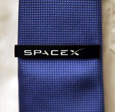 Tiebar SPACEX black Tie Clip / Tie Clasp / Tie Bar