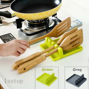 New Kitchen Tool Spoon Rest Utensil Organizers Spatula Holder Rack Storage Shelf