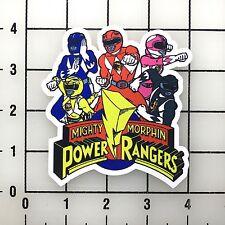 """Power Rangers 4"""" Wide Vinyl Decal Sticker BOGO"""