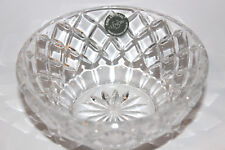 "Lenox fine Crystal 5"" diameter Candy Nut Condiment serving Bowl no flaws + label"