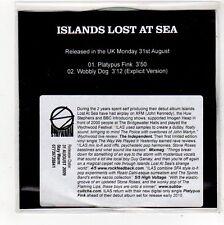(FO475) Islands Lost At Sea, Platypus Fink - 2009 DJ CD
