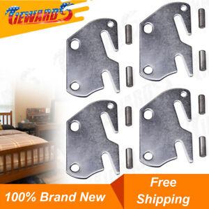 X-Dr Furniture Wood Bed Rail Bracket Fitting Snap Connectors 4 Sets 59fe650d-a222-11e9-8d7c-4cedfbbbda4e