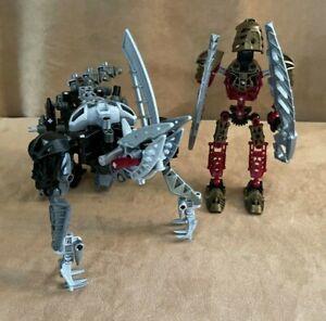 8811 Lego Complete Warriors Toa Lhikan and Kikanalo Bionicle action figure