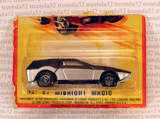 VINTAGE #51 MIDNIGHT MAGIC BLACK SILVER 1980 LESNEY SUPERFAST HONG KONG MATCHBOX