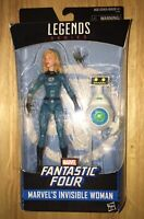 Marvel Legends Invisible Woman Fantastic Four Action Figure Walgreens Exclusive